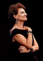 Cerimonia di consegna del premio Le Maschere del Teatro Italiano al Teatro San Carlo di Napoli , 5 Settembre 2014<br /> nella foto Anita Bartolucci