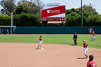 Stanford, CA -- May 12, 2018: Stanford Softball wins over No. 9 Arizona 2-1 at Smith Family Stadium.