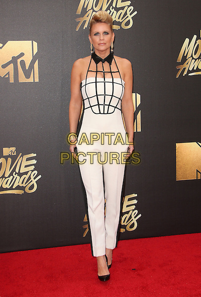 09 April 2016 - Burbank, California - Carrie Keagan. 2016 MTV Movie Awards held at Warner Bros. Studios. <br /> CAP/ADM/SAM<br /> &copy;SAM/ADM/Capital Pictures