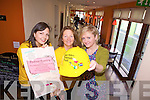 FASHION: Doireann Barrett, Julianne Reen and Pauline Barrett who are organising a fashion show in the Denny Lane, Denny St., on April 1st. in aid of the Niall Mellon building blitz.