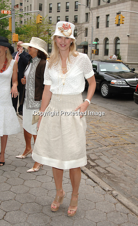 Blair Husain ..at The 24th Annual Frederick Law Olmsted Awards Luncheon on May 3, 2006 at The Central Park's Conservatory Garden presented by the Women's Committee of the Central Park Conservancy. ..Robin Platzer, Twin Images