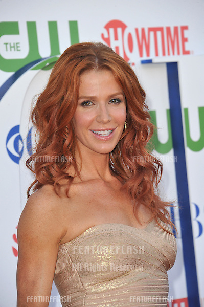 Poppy Montgomery, star of Unforgettable, at the CBS Summer 2011 TCA Party at The Pagoda, Beverly Hills..August 3, 2011  Los Angeles, CA.Picture: Paul Smith / Featureflash