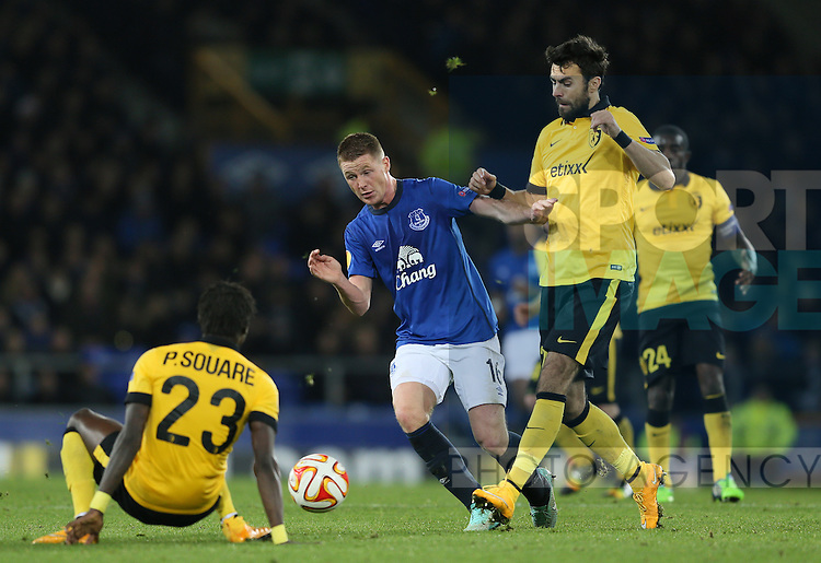 James McCarthy of Everton - UEFA Europa League - Everton vs  Lille - Goodison Park Stadium - Liverpool - England - 6th November 2014 - Pic Simon Bellis/Sportimage