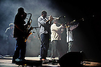 Galactic in concert at The Pageant in Saint Louis on Feb 19, 2009.