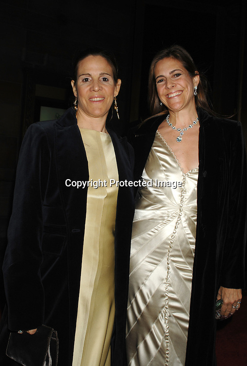 Claudia and Alexandra Lebenthal ..arriving at the 3rd Annual Unicef Snowflake Ball at Cipriani 42nd Street on November 28, 2006...Robin Platzer, Twin Images