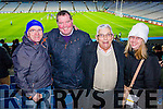 St Mary's fans who travelled to Croke Park on Sunday for the All Ireland Intermediate football final, were l-r: Michael Curran, Maurice Fitzgerald, Paddy Cournane and Anne Cournane.