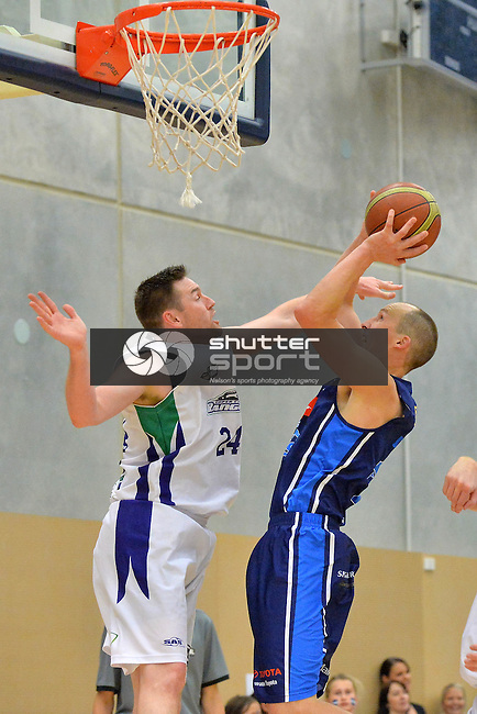 NELSON, NEW ZEALAND - MAY 16:  Mike Pero Nelson Giants v Waitakere Super City Rangers at Saxton Stadium on May 16, 2015 in Nelson, New Zealand. (Photo by Barry Whitnall/Shuttersport Limited