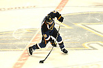 St. Louis Blues defenseman Kevin Shattenkirk (22) shoots on goal in the second period during a game between the Dallas Stars and the St. Louis Blues on Friday April 19, 2013 at the Scottrade Center in downtown St. Louis.