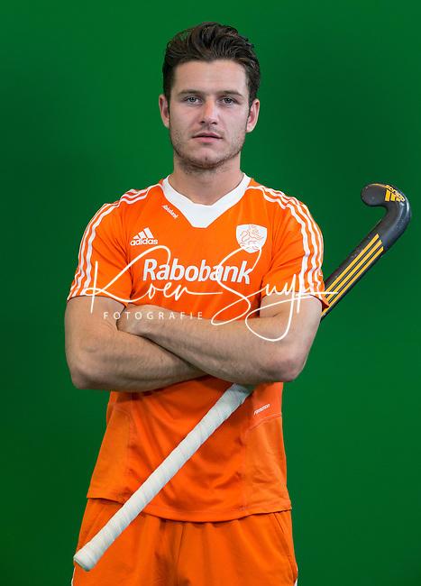 DEN BOSCH - ROBBERT KEMPERMAN .   . Nederlands Hockeyteam  voor nieuwe platform Hockey.nl.    FOTO KOEN SUYK