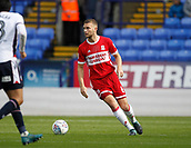 9th September 2017, Macron Stadium, Bolton, England; EFL Championship football, Bolton Wanderers versus Middlesbrough; Ben Gibson of Middlesbrough on the ball