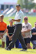 Bethesda, MD - June 25, 2016:  Jim Furyk (USA) walks to his tee shot during Round 3 of professional play at the Quicken Loans National Tournament at the Congressional Country Club in Bethesda, MD, June 25, 2016.  (Photo by Elliott Brown/Media Images International)