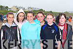 Nessa Moran, Niamh Coffey, Aoife Fitzgerald, Bronagh Brown, Shauna Clifford and Suzie Kennedy braving the elements at the Ballinskelligs regatta on Sunday   Copyright Kerry's Eye 2008