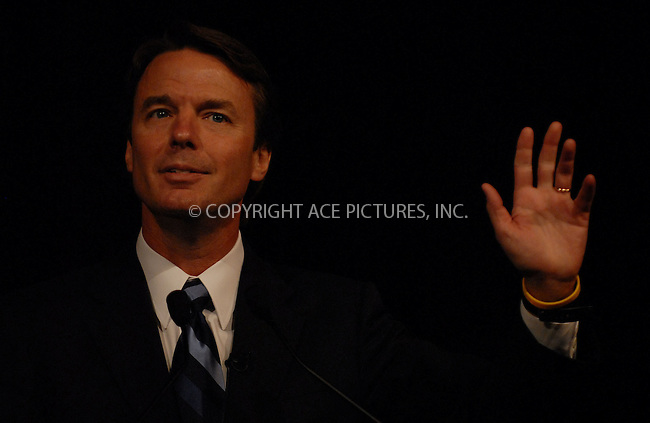 WWW.ACEPIXS.COM . . . . .....April 18 2007, New York City....Democratic Presidential candidate and former U.S. Senator John Edwards speaks at the Ninth Annual National Action Network Convention in Manhattan.  ....Please byline: Kristin Callahan - ACEPIXS.COM..... *** ***..Ace Pictures, Inc:  ..Philip Vaughan (646) 769 0430..e-mail: info@acepixs.com..web: http://www.acepixs.com
