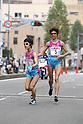 (L-R) Yukiko Makihara, Chisa Nishio (Starts), NOVEMBER 3, 2011 - Ekiden : East Japan Industrial Women's Ekiden Race at Saitama, Japan. (Photo by Toshihiro Kitagawa/AFLO)