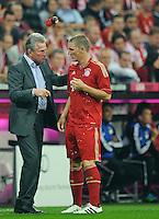Fussball Bundesliga 2011/12: FC Bayern Muenchen - Bayer 04 Leverkusen