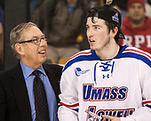 Steve Nazro, C.J. Smith (UML - 19) The University of Massachusetts-Lowell River Hawks defeated the Boston College Eagles 4-3 to win the 2017 Hockey East tournament at TD Garden on Saturday, March 18, 2017, in Boston, Massachusetts.