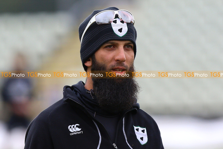 Moeen Ali of Worcestershire ahead of Worcestershire CCC vs Essex CCC, Specsavers County Championship Division 2 Cricket at New Road on 1st May 2016