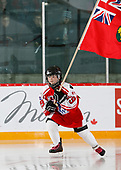 MORDEN, MB– Nov 8 2019: Game 15 - Team Ontario Red v Team Quebec during the 2019 National Women's Under-18 Championship at the Access Event Centre in Morden, Manitoba, Canada. (Photo by Dennis Pajot/Hockey Canada Images)