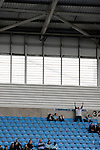 Coventry City 1 Birmingham City 1, 10/03/2012. Ricoh Arena, Championship. Home fans in one of the stands gesturing to opponents at the Ricoh Arena, pictured before Coventry City hosted Birmingham City in an Npower Championship fixture. The match ended in a one-all draw, watched by a crowd of 22,240. The Championship was the division below the top level of English football. Photo by Colin McPherson.