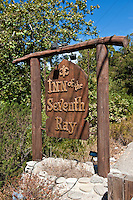 Inn of the Seventh Ray, Restaurant, Sign, Topanga Canyon, CA,