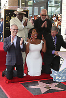 "HOLLYWOOD, CA - JULY 11: Mitch O'Farrell, Niecy Nash, Cedric ""The Entertainer"", Ryan Murphy, Leron Gubler, at Niecy Nash Honored With Star On The Hollywood Walk Of Fame in Hollywood, California on July 11, 2018. Credit: Faye Sadou/MediaPunch"