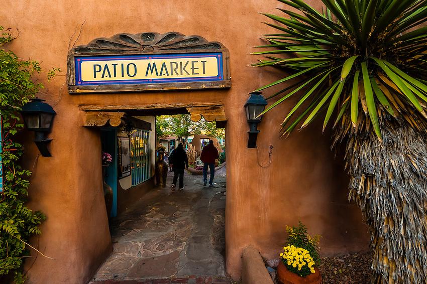 Patio Market, Old Town, Albuquerque, New Mexico USA