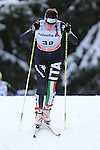 03/01/2014, Dobbiaco, Toblach - 2014 Cross Country Ski World Cup Tour de ski <br /> Virginia De Martin Topranin in action during the Ladies 15 km Free Pursuit in Dobbiaco, Toblach, Italy on 03/01/2014.