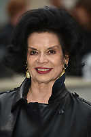 Bianca Jagger<br /> at the Royal Academy of Arts Summer exhibition preview at Royal Academy of Arts on June 04, 2019 in London, England.<br /> CAP/PL<br /> ©Phil Loftus/Capital Pictures