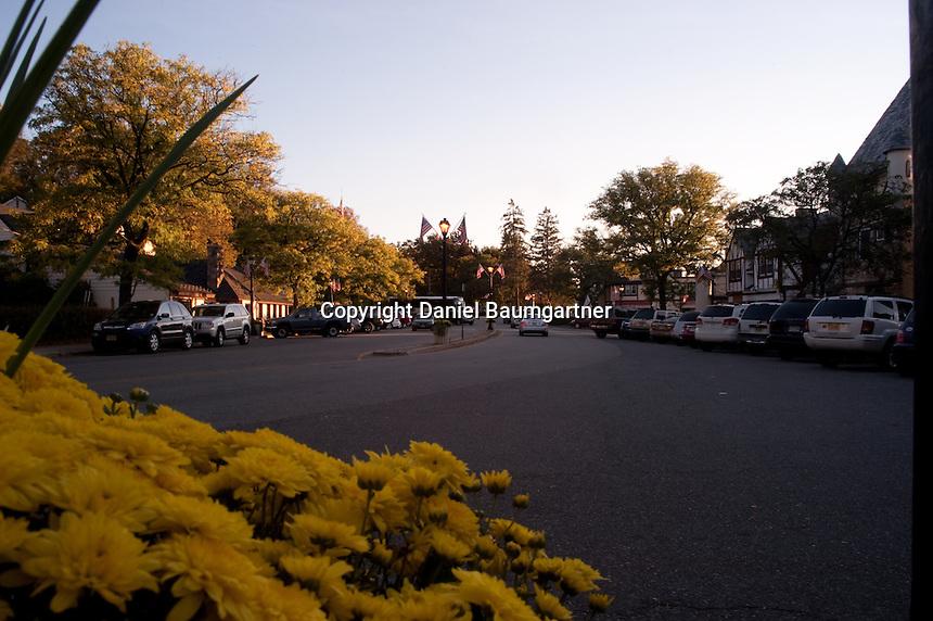 Fall White Deer Plaza View