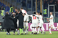 Meri Demiral of Juventus celebrates after scoring a goal<br /> Roma 12-01-2020 Stadio Olimpico <br /> Football Serie A 2019/2020 AS Roma - Juventus FC<br /> Photo Cesare Purini / Insidefoto
