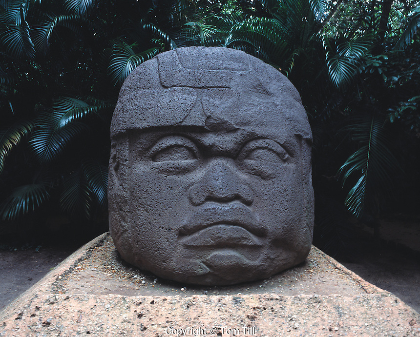Giant Olmec Statue, Tabsaco State, Mexico   Ancient culture of Eastern Mexico