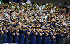 Sept. 14, 2013; The Notre Dame Marching Band plays at Purdue.<br /> <br /> Photo by Matt Cashore