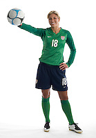 Hope Solo. U.S. Women's National Team portrait photoshoot. June 8, 2007 in Carson, CA.