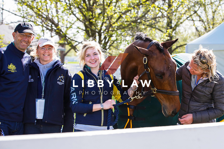AUS-Bill Levett (IMPROVISE) 2015 USA-Rolex Kentucky Three Day Event CCI4* (Wednesday 22 April) CREDIT: Libby Law COPYRIGHT: LIBBY LAW PHOTOGRAPHY