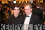 Kevin Kennelly and Jerry Kennelly at the Ernst & Young Entrepreneur awards in Citywest Hotel, Dublin on Thursday Night.