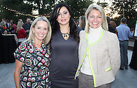 NWA Democrat-Gazette/CARIN SCHOPPMEYER Kerry Robinson (from left), Silvia Azrai Kawas, The Big Event co-host and Kirsten Evans gather at the benefit Sept. 29.