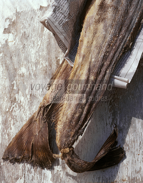 Europe/France/Auvergne/12/Aveyron : Ingrédients du stockfish ou estofinado