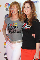 LOS ANGELES, CA - SEPTEMBER 07: Marg Helgenberger and Dana Delany at the Stand Up To Cancer benefit at The Shrine Auditorium on September 7, 2012 in Los Angeles, California. Credit: mpi27/MediaPunch Inc. /NortePhoto.com<br /> <br /> **CREDITO*OBLIGATORIO** *No*Venta*A*Terceros*<br /> *No*Sale*So*third*...