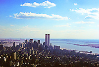 New York City: Looking south from Empire State Building. Photo '78.