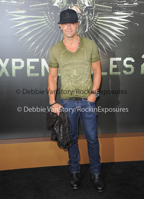 Joey Lawrence at Lionsgate World Premiere of The Expendables 2 held at The Grauman's Chinese Theatre in Hollywood, California on August 15,2012                                                                               © 2012 Hollywood Press Agency