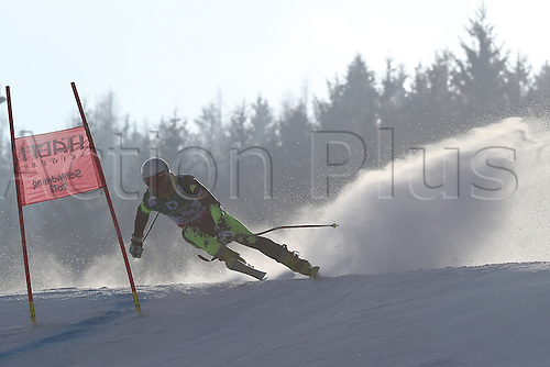 15.02.2013, Schladming, Austria. Eugenio Claro in action during the qualification race of the Giant Slalom of  the FIS Alpine World Ski Championships 2013