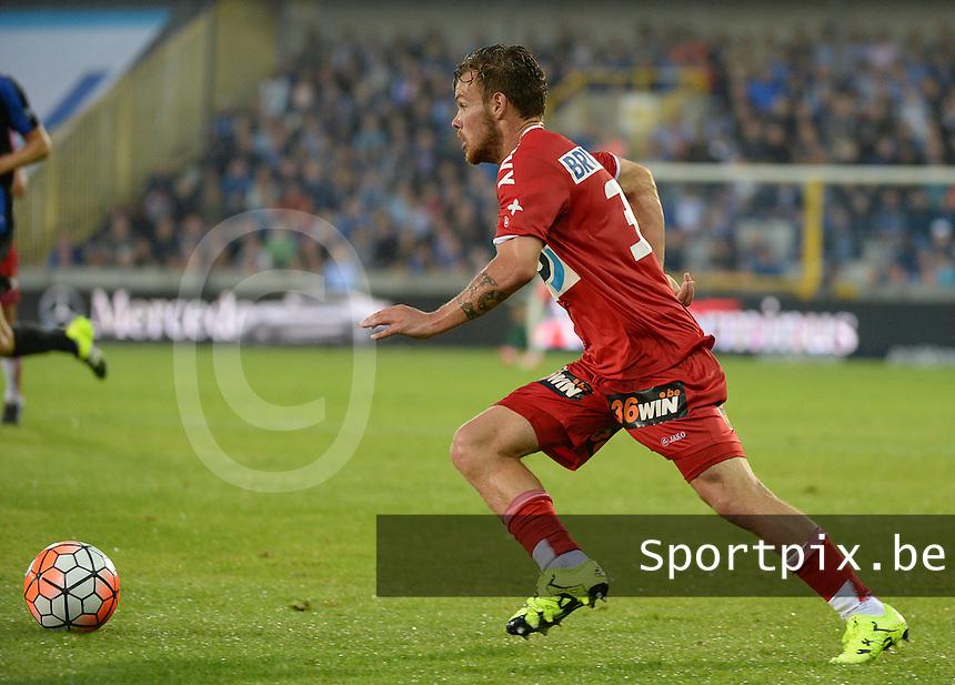 Club Brugge - KV Kortrijk : Kristof D'Haene <br /> Foto VDB / Bart Vandenbroucke