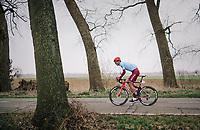 Reto Hollenstein (DEU/Katusha)<br /> <br /> 74th Omloop Het Nieuwsblad 2019 <br /> Gent to Ninove (BEL): 200km<br /> <br /> ©kramon