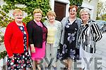 Mary O'Connor (Currow), Mary Ann Healy (Currow), Ann O'Connor (Currow), Sheila Ahern (Currow) and Kay Walsh (Brosna) enjoying the Sliabh Luachra Tea Dance in the Ballygarry House Hotel on Monday