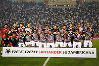 SÃO PAULO,SP,17 JULHO 2013 - FINAL RECOPA SUL-AMERICANA - CORINTHIANS x SÃO PAULO - jogadores  do São Paulo antes da  partida entre Corinthians X São Paulo em jogo válido pela final da Recopa no Estádio Paulo Machado de Carvalho (Pacaembu) na noite desta quara feira (17).FOTO ALE VIANNA - BRAZIL PHOTO PRESS.