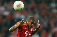 MUNIQUE, ALEMANHA, 25 SETEMBRO 2012 - CAMPEONATO ALEMAO - BAYERN DE MUNIQUE X WOLFSBURG - Jerome Boateng jogador do Bayern de Munique durante partida contra o Wolfsburg, pela quinta rodada do Campeonato Alemao, nesta terca-feira, no estadio Allianz Arena em Munique na Alemanha. O Bayern venceu por 3 a 0. (FOTO: PIXATHLON / BRAZIL PHOTO PRESS).