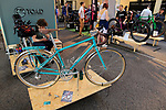 Toad Custom Cycles stand at Bespoked 2018 UK handmade bicycle show held at Brunel's Old Station & Engine Shed, Bristol, England. 21st April 2018.<br /> Picture: Eoin Clarke | Cyclefile<br /> <br /> <br /> All photos usage must carry mandatory copyright credit (© Cyclefile | Eoin Clarke)