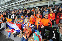 SPEED SKATING: STAVANGER: Sørmarka Arena, 29-01-2016, ISU World Cup, fans, ©photo Martin de Jong