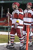 Daniel Moriarty (Harvard - 11), Peter Starrett (Harvard - 14) - The Union College Dutchmen defeated the Harvard University Crimson 2-0 on Friday, January 13, 2011, at Fenway Park in Boston, Massachusetts.