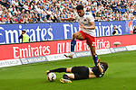 19.05.2019,  GER; 2. FBL, Hamburger SV vs MSV Duisburg ,DFL REGULATIONS PROHIBIT ANY USE OF PHOTOGRAPHS AS IMAGE SEQUENCES AND/OR QUASI-VIDEO, im Bild Josha Vagnoman (Hamburg #27) versucht sich gegen Young-jae Seo (Duisburg #02) durchzuseten Foto © nordphoto / Witke *** Local Caption ***